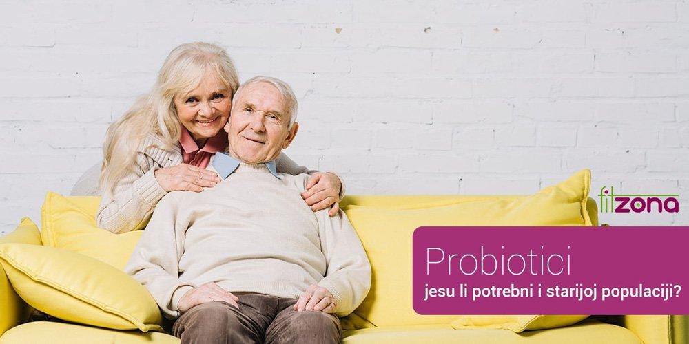 Probiotici - jesu li potrebni i starijoj populaciji?