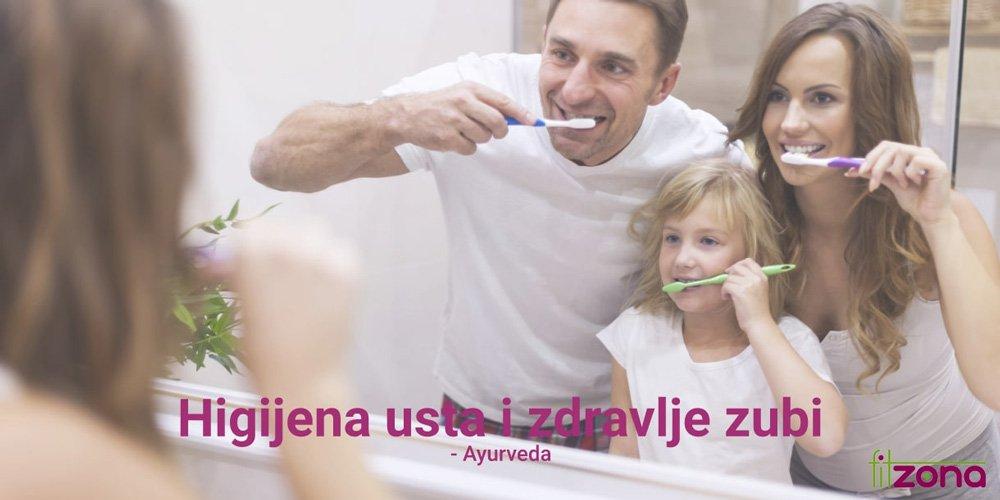 Higijena usta i zdravlje zubi prema Ayurvedi